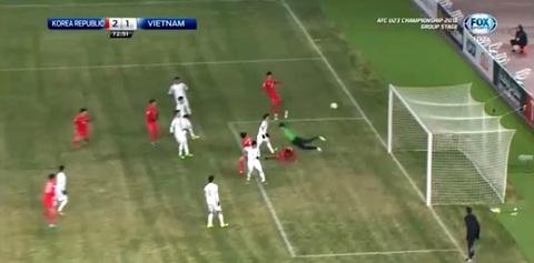 U23 Việt Nam 1-2 U23 Hàn Quốc: Bàn thua không chiến