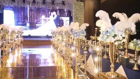 Cận cảnh hôn lễ đình đám của Lâm Khánh Chi