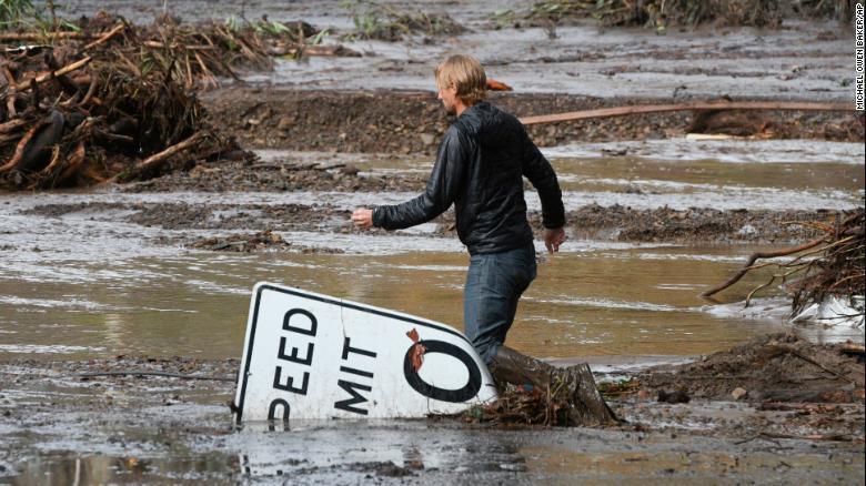 lở bùn,lũ lụt,Mỹ,California