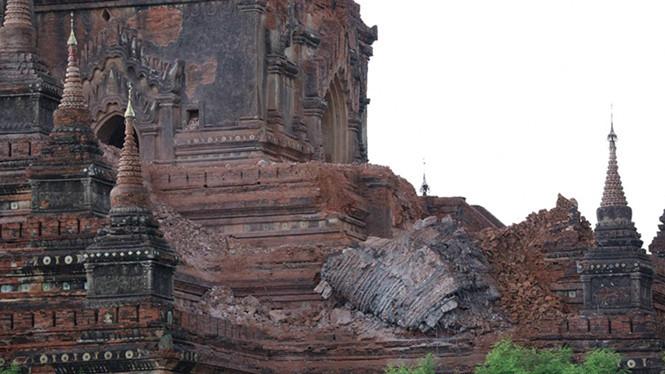 Động đất mạnh tấn công miền trung Myanmar