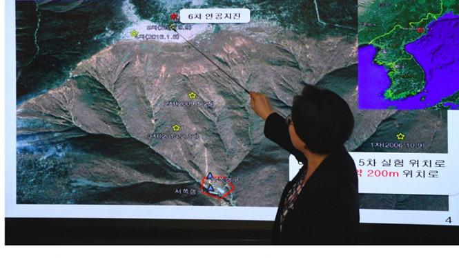 Triều Tiên,hạt nhân Triều Tiên,bãi thử hạt nhân,tình hình Triều Tiên