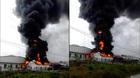 Hải Phòng: Cháy dữ dội trong khu công nghiệp Tân Liên