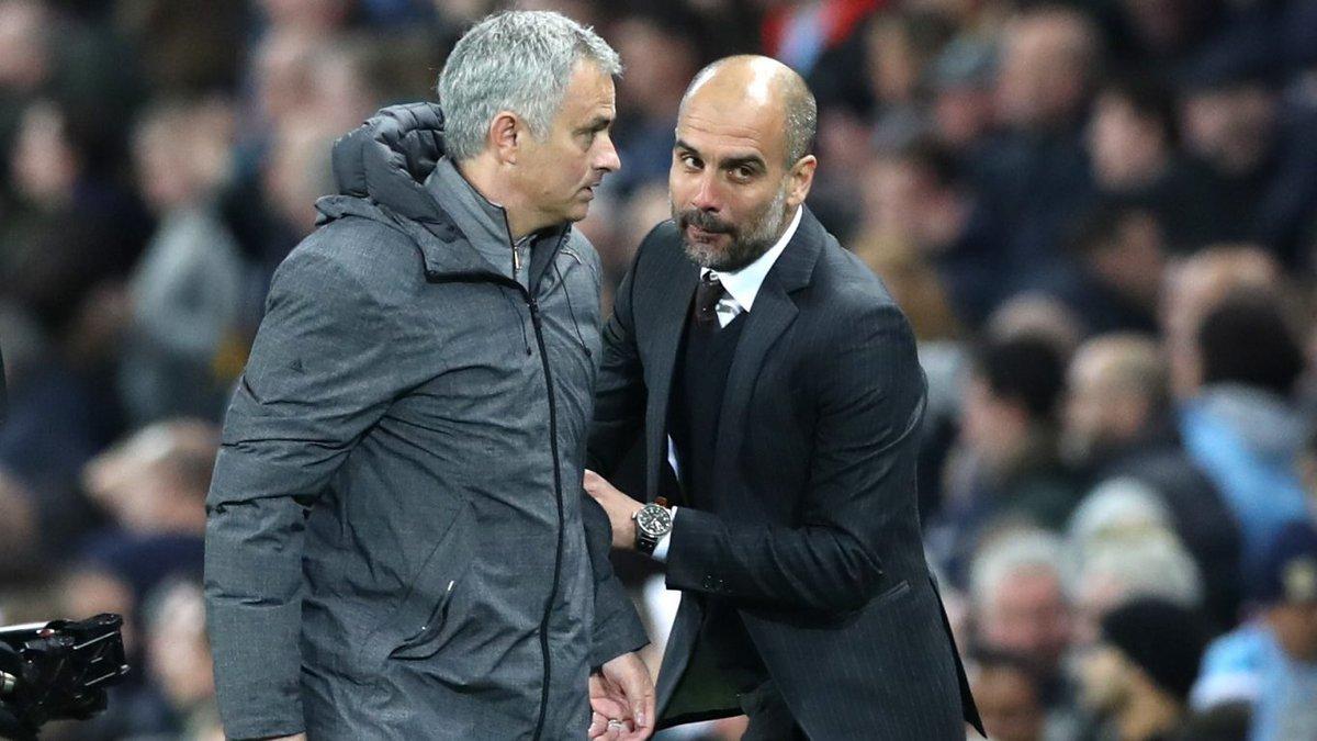 Pep Guardiola,Mourinho,Man City,Premier League,Ngoại hạng Anh