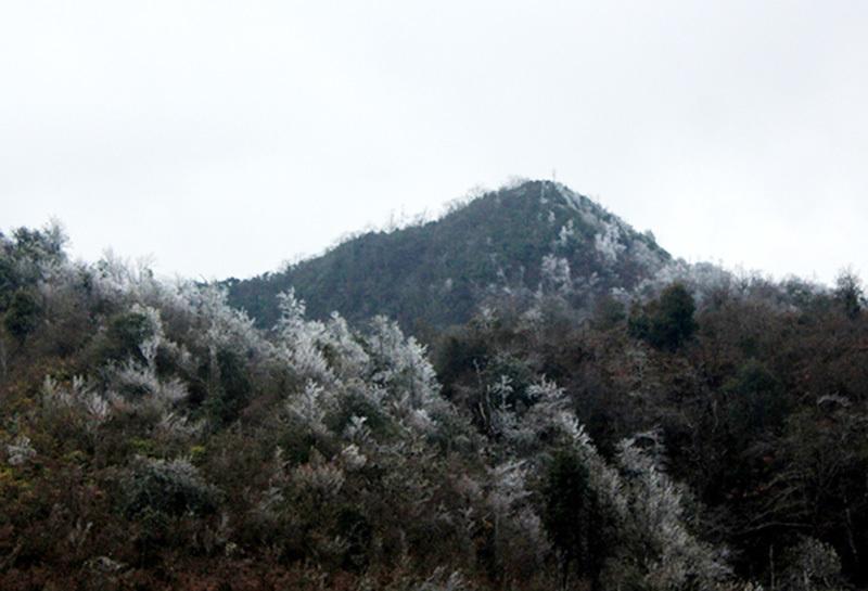 băng giá,băng tuyết,tuyết rơi,Fansipan,Lào Cai