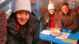 Mặc ồn ào rạn nứt, vợ chồng Bình Minh hạnh phúc đi du lịch