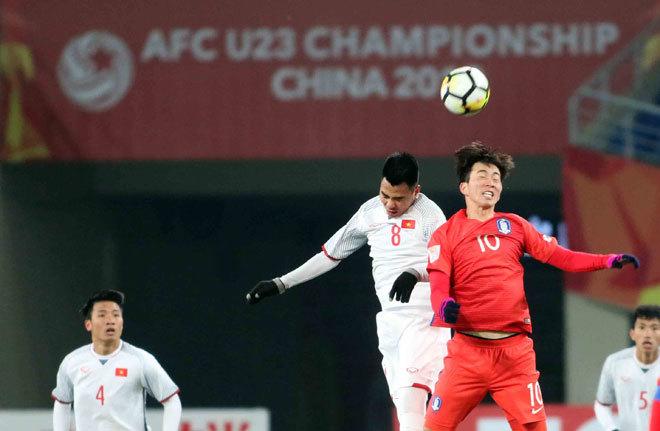 U23 Việt Nam,HLV Park Hang Seo,U23 Hàn Quốc,Công Phượng,Quang Hải