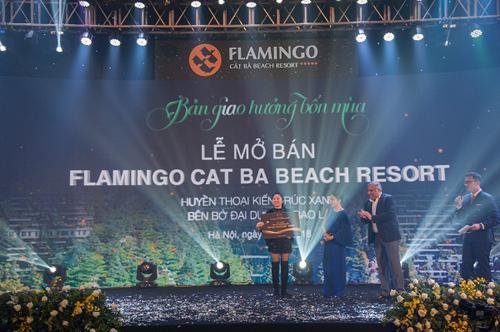 Mở bán biệt thự Flamingo Cát Bà Beach Resort thành công