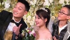 Lời thề phu thê siêu lầy lội của 'thánh chế' Nhật Anh Trắng và vợ trong ngày cưới