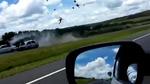 10 clip 'nóng': Cú đâm định mệnh trên cao tốc của lái xe say