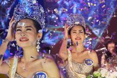 Tước vương miện Hoa hậu Đại Dương Ngân Anh là đúng?