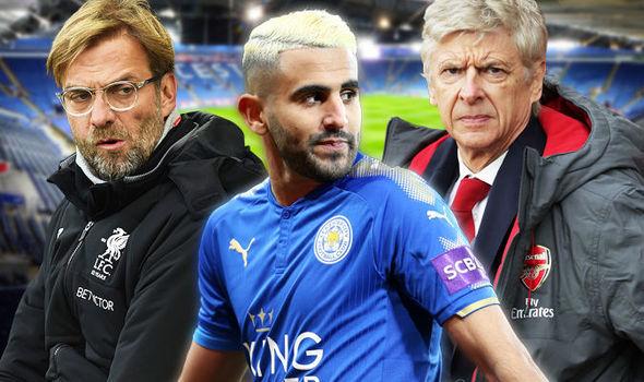 MU,Vardy,Mourinho,Chicharito,Alexis Sanchez,Mahrez,Liverpool,Arsenal,Walcott