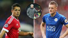 """MU """"hốt"""" nhanh Vardy và Chicharito, Mahrez thả thính Arsenal"""