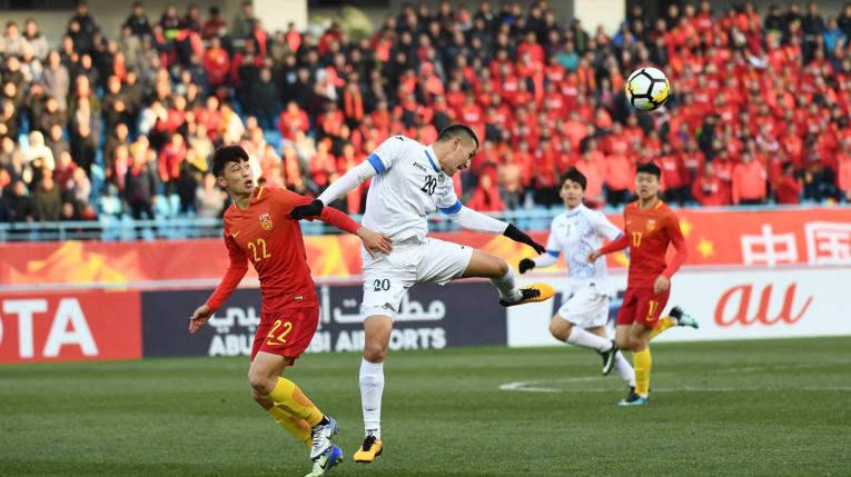 U23 Uzbekistan khiến U23 Trung Quốc khóc hận