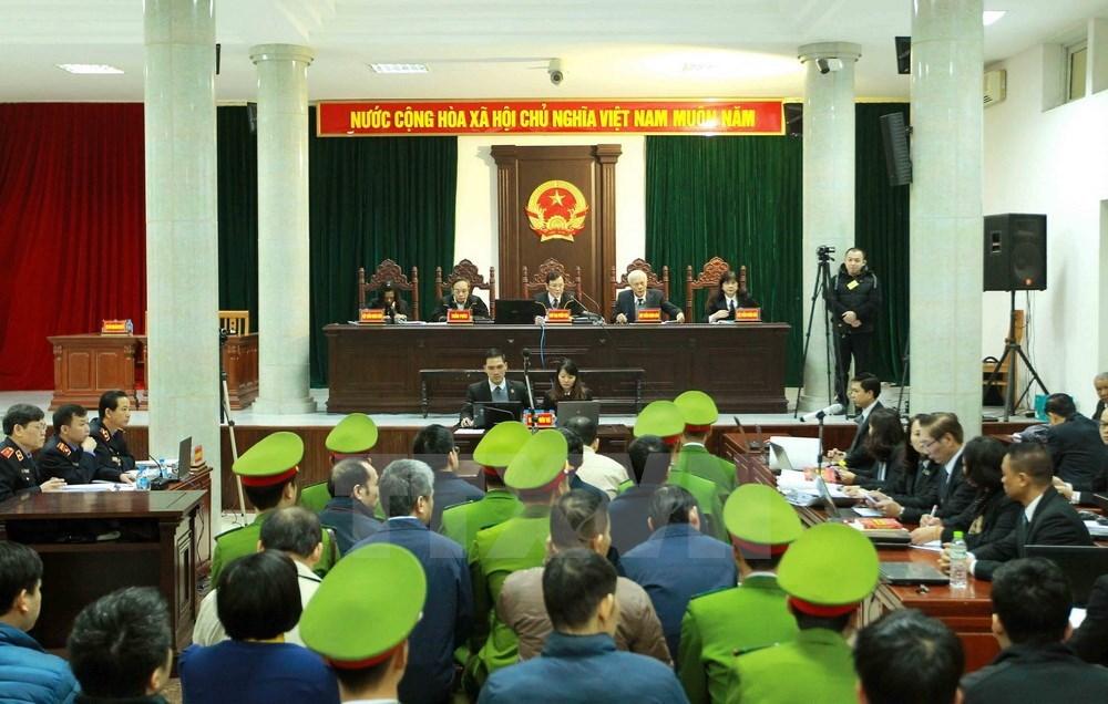 Hình ảnh ngày thứ 6 xét xử Trịnh Xuân Thanh và đồng phạm