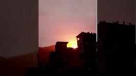 Bộ phận tên lửa Trung Quốc phát nổ gần khu dân cư