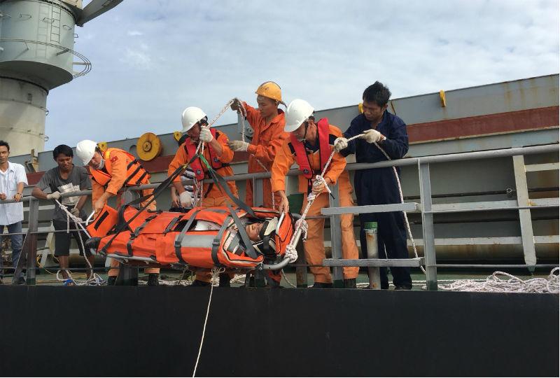 Trung tâm phối hợp tìm kiếm cứu nạn hàng hải Việt Nam,cứu nạn hàng hải,thuyền viên,thuyền viên Trung Quốc