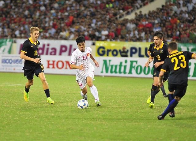 U23 Việt Nam,Công Phượng,U23 Australia,HLV Park Hang Seo