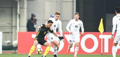 Video bàn thắng U23 Malaysia 1-1 U23 Jordan