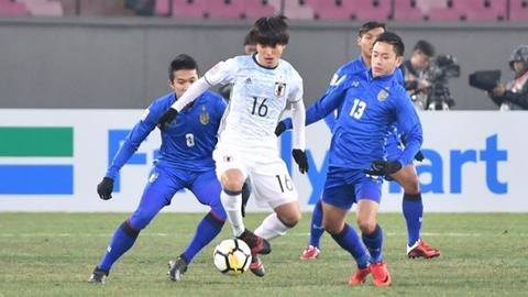 Video bàn thắng U23 Thái Lan 0-1 U23 Nhật Bản