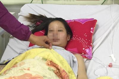 Cô gái 21 tuổi liên tục ho ra máu khi mang thai