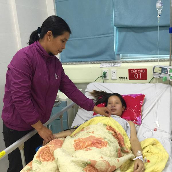 ho ra máu,sinh non,đẻ non,Bệnh viện Bạch Mai