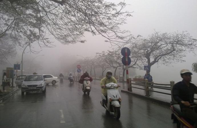 Dự báo thời tiết 14/1: Miền Bắc mưa rét kèm sương mù - ảnh 1