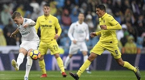 Real 0-0 Villarreal: Marcelo nã đại bác