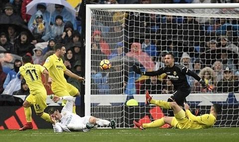 Real 0-0 Villarreal: Ronaldo dứt điểm phút 45