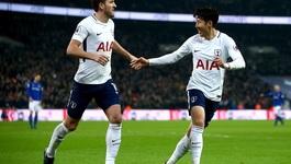 Harry Kane lập kỷ lục, Tottenham nghiền nát Everton
