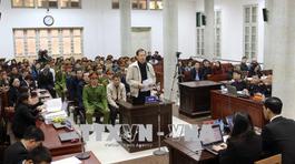 Hình ảnh phiên tòa xét xử Trịnh Xuân Thanh và đồng phạm sáng 14/1