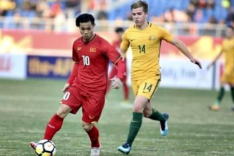 Video bàn thắng U23 Việt Nam 1-0 U23 Australia