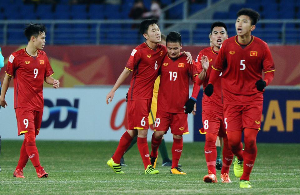 U23 Việt Nam,HLV Park Hang Seo,Công Phượng,Quang Hải