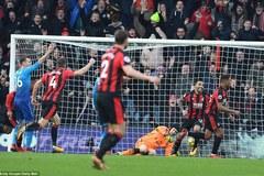 Vắng Sanchez, Arsenal thua ngược Bournemouth