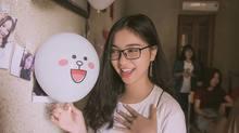 Bạn gái xinh đẹp, nhí nhảnh tiếp lửa Quang Hải từ quê nhà