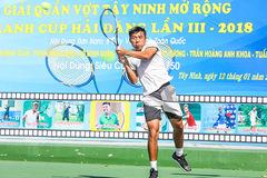 """Hoàng Nam """"vô đối"""" ở giải Tây Ninh mở rộng 2018"""