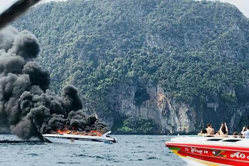 Thái Lan,du khách Trung Quốc,tàu du lịch