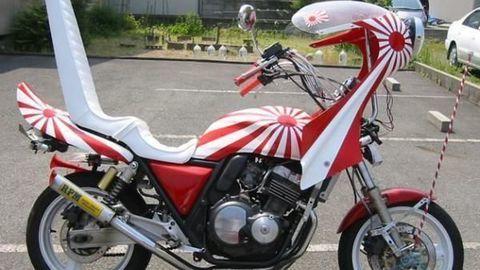 Phong cách xe độ kiểu yakuza Nhật Bản