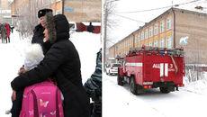 Các em học sinh Nga bị thương khi bảo vệ cô giáo