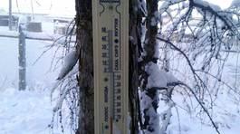Cuộc sống ở nơi nhiệt kế bị vỡ vì quá lạnh