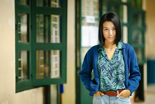 Á hậu Hoàng Oanh vào vai đại ca hổ báo trong phim của Dũng khùng