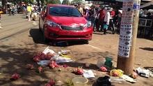 Cô gái 9X lái xe tông liên hoàn, 1 người chết