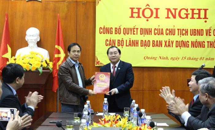 bổ nhiệm,Nhân sự,Quảng Ninh,Thanh Hóa,Bình Định
