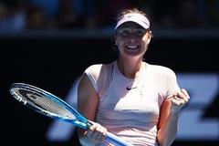 Australian Open 2018: Sharapova nhẹ lướt vào vòng 2