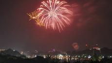 Hà Nội bắn pháo hoa tại 30 điểm dịp Tết Nguyên đán 2018