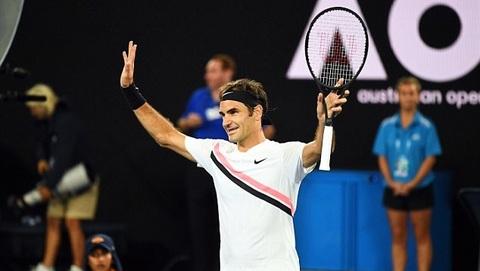 Roger Federer 3-0 Aljaz Bedene