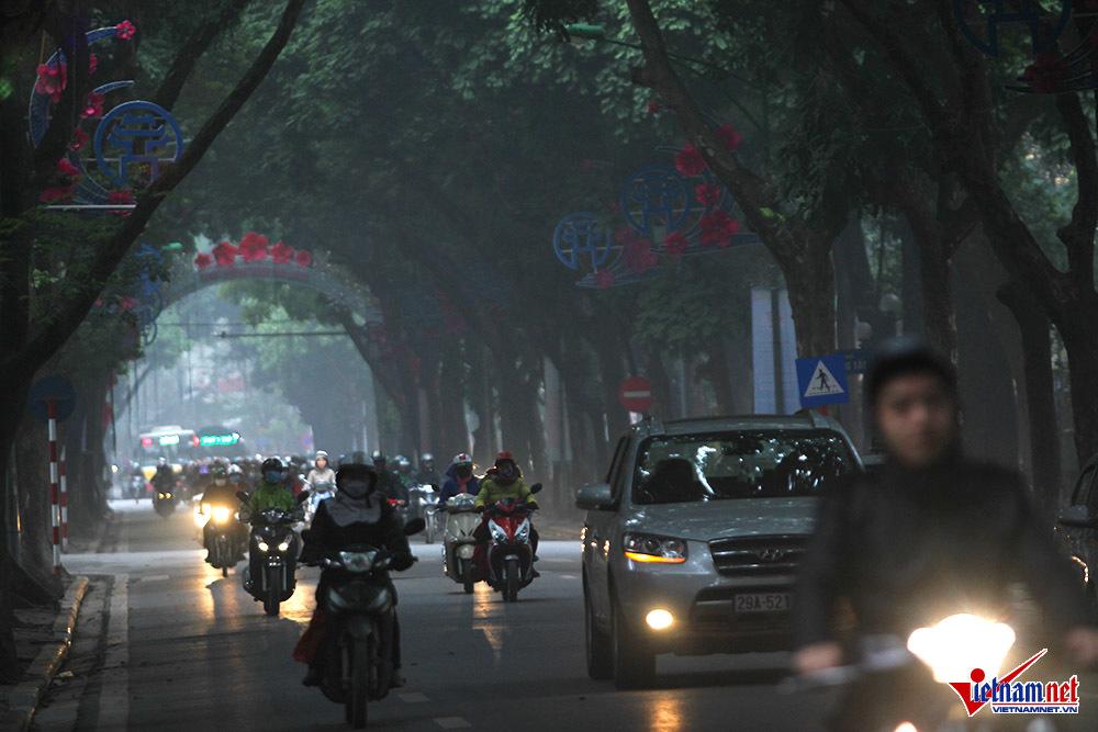 Hà Nội,sương mù