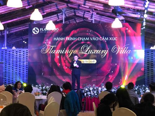 Ấn tượng Lễ mở bán Flamingo Luxury Villa