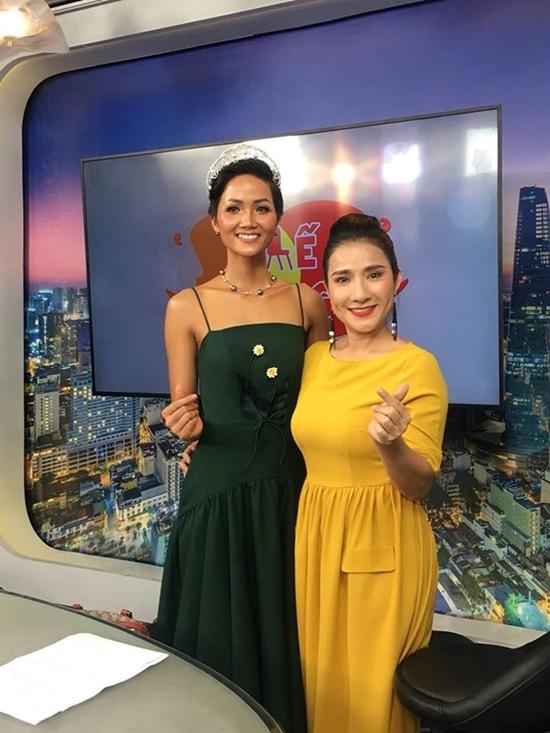 MC Cát Tường giải thích lý do hậm hực với hoa hậu H'Hen Niê