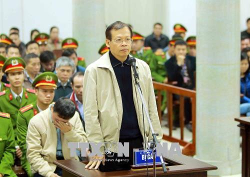 PVN,Đinh La Thăng,Trịnh Xuân Thanh,xét xử Trịnh Xuân Thanh,xét xử Đinh La Thăng