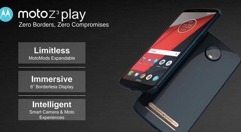 Motorola Moto Z3/Z3 Play sẽ học lỏm thiết kế của Samsung Galaxy?